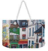 Rue Galande, Paris Weekender Tote Bag