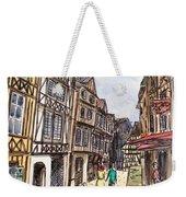 Rue Malpalu, Rouen, France I Weekender Tote Bag