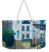 Rue Norvins, Paris Weekender Tote Bag