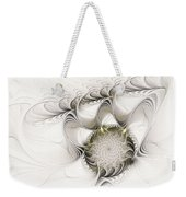 Ruffled Flower Weekender Tote Bag