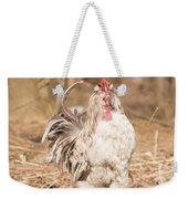 Ruffled Rooster Weekender Tote Bag