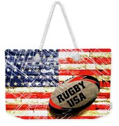 Rugby Football  Weekender Tote Bag