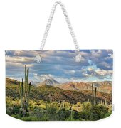 Rugged Beauty Weekender Tote Bag