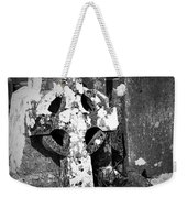 Rugged Cross At Fuerty Cemetery Roscommon Ireland Weekender Tote Bag