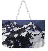 Rugged Mountain Peaks Weekender Tote Bag