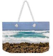 Rugged Shores Weekender Tote Bag