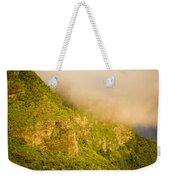 Rugged Volcanic Peaks Of Moorea Weekender Tote Bag