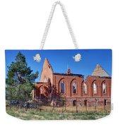 Ruined Church In Rural Utah Weekender Tote Bag