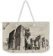 Ruins At Jamestown Weekender Tote Bag