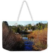 Ruins In Autumn Weekender Tote Bag