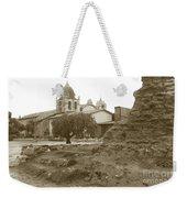 Ruins Of Carmel Mission Circa 1924 Weekender Tote Bag