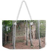 Ruins Of The Baroque Chapel Of St. Mary Magdalene Weekender Tote Bag