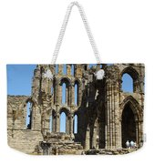 Ruins Of Whitby Abbey Weekender Tote Bag
