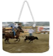 Run Little Doggie Weekender Tote Bag