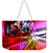 Runaway Color Abstract Weekender Tote Bag by Alexander Butler
