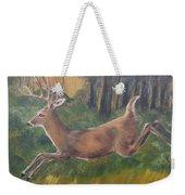 Running Buck Weekender Tote Bag
