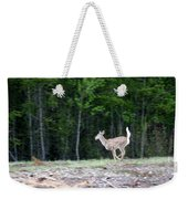 Running Deer Weekender Tote Bag
