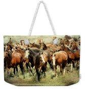 Running Free Horses IIi Weekender Tote Bag