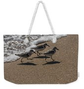 Running From The Water Weekender Tote Bag