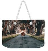 Running In The Forest Weekender Tote Bag