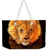 Running Lion Weekender Tote Bag