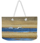 Running On Water Weekender Tote Bag
