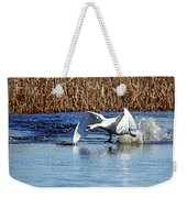 Running On Water I Weekender Tote Bag