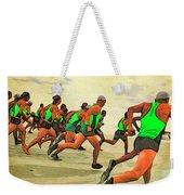 Running Start Weekender Tote Bag
