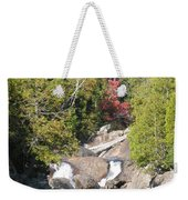 Running Through The Woods Weekender Tote Bag