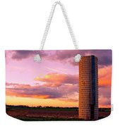 Rural Boulder County Sunset Weekender Tote Bag