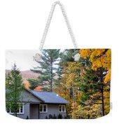 Rural Colorful Autumn Landscape 3 Weekender Tote Bag