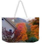 Rural Colorful Autumn Landscape 4 Weekender Tote Bag