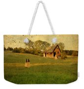 Rural Cottage Weekender Tote Bag