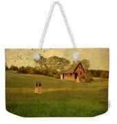 Rural Cottage Weekender Tote Bag by Jill Battaglia