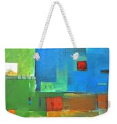 Rural Landscape Rusted Weekender Tote Bag