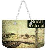 Rural Retreat Weekender Tote Bag