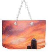 Rural Skies Weekender Tote Bag
