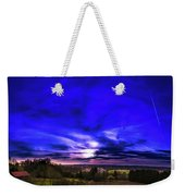 Rural Sunset Panorama Weekender Tote Bag