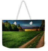 Rural Sunset Weekender Tote Bag