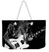Rush 77 #17 Enhanced Bw Weekender Tote Bag