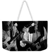 Rush 77 #46 Enhanced Bw Weekender Tote Bag