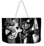 Rush 77 #52 Enhanced Bw Weekender Tote Bag