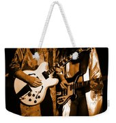 Rush 77 #52 Enhanced In Amber Weekender Tote Bag