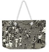 Rush Hour - Sepia Weekender Tote Bag
