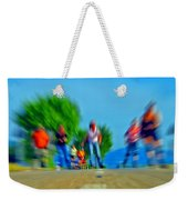 Rush On Skates Weekender Tote Bag