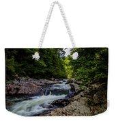 Rushing Falls In The Mountains Weekender Tote Bag