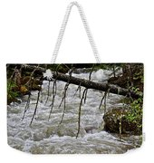 Rushing Stream Weekender Tote Bag