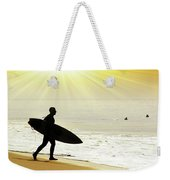 Rushing Surfer Weekender Tote Bag