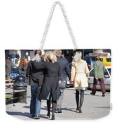 Rushing To The Alter Weekender Tote Bag