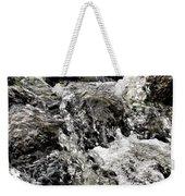 Rushing Waterfall Weekender Tote Bag